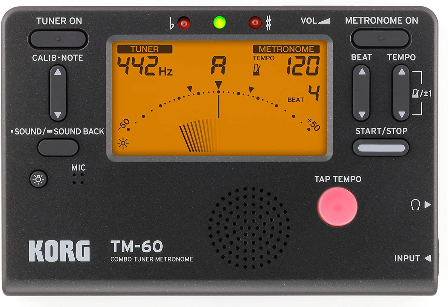 korg tuner for guitar players