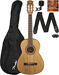 fender acoustic guitar package for kids