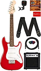 fender electric guitar package for kids