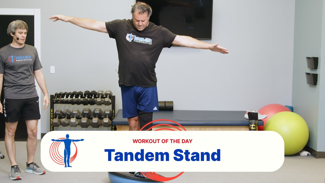 Advanced Tandem Stand