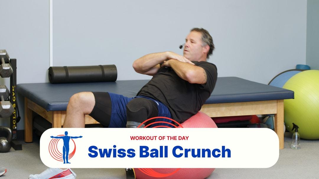 Swiss Ball Crunch