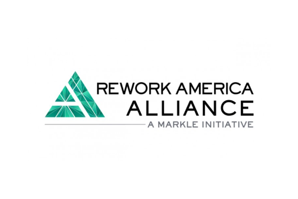 Rework America Alliance logo