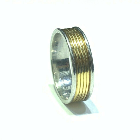 Tiffany Co. Ring Pt950 18K YG Platinum 750