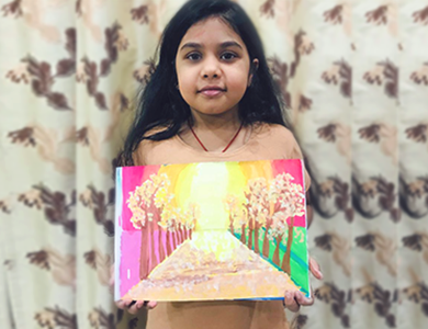 Little Master Kids Activity Painting