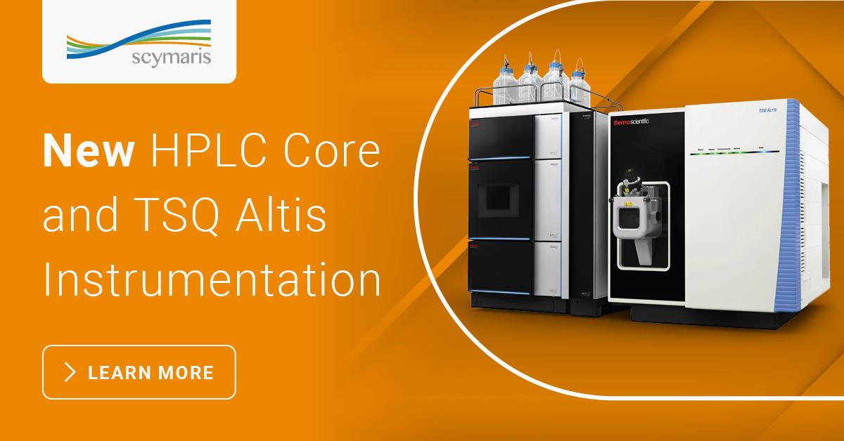 New Vanquish Core HPLC & TSQ Altis Mass Spectrometer Instrumentation