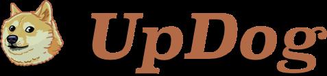 UpDog logo.