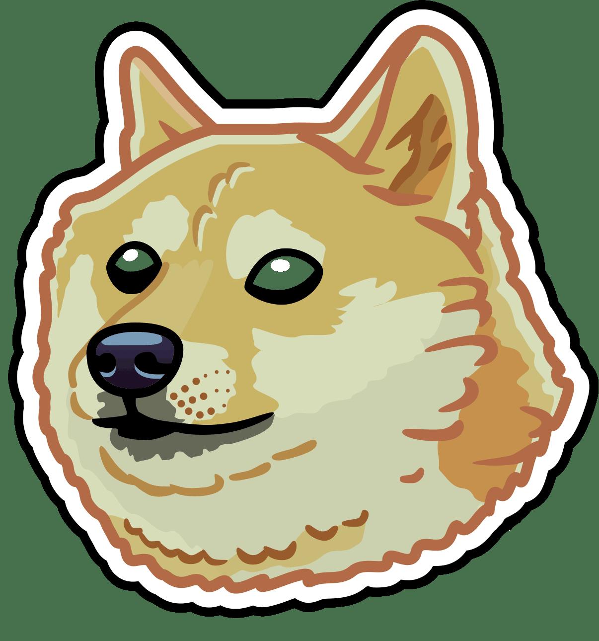 Illustration of Dog Dougsson the UpDog dog
