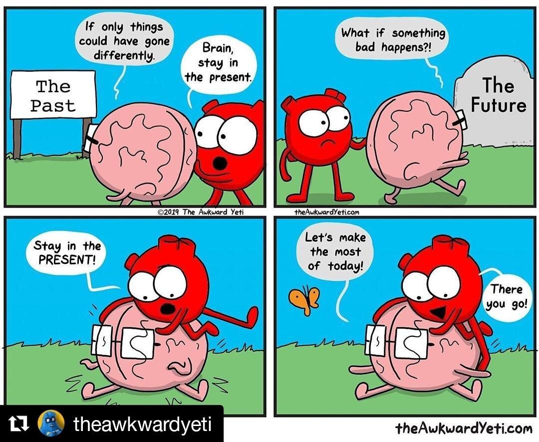 Mindfulness animated by The Awkward Yeti