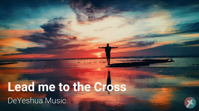 Lead me to the cross with lyrics
