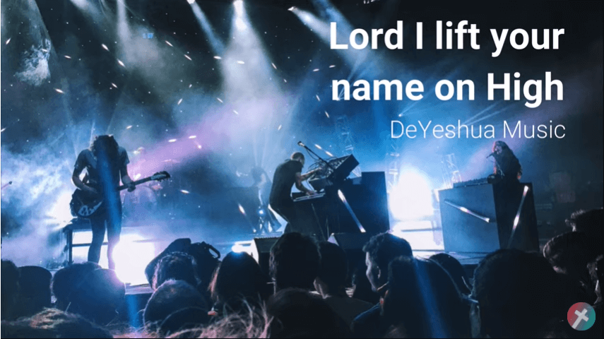 Lord i Lift you name on high with lyrics