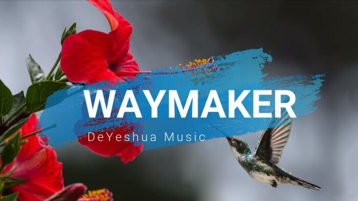 Waymaker with lyrics