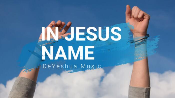 In Jesus Name with lyrics