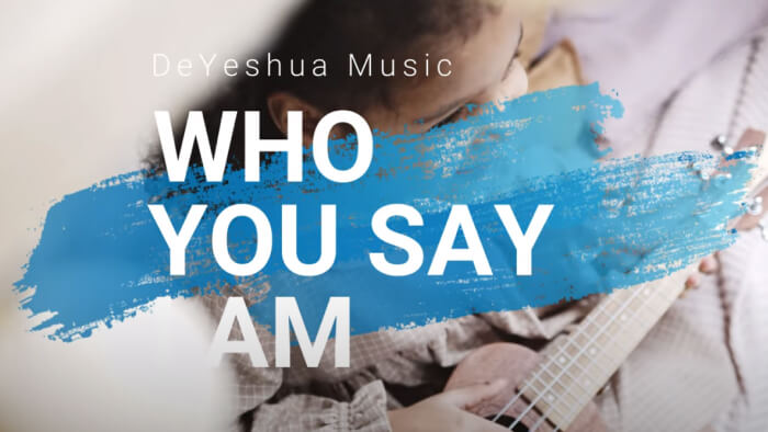 Who you say i am with lyrics