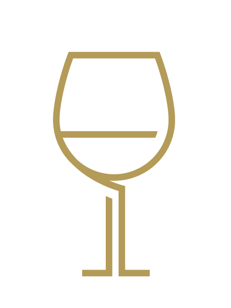 An icon of a wine glass
