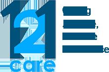 121 Care Logo