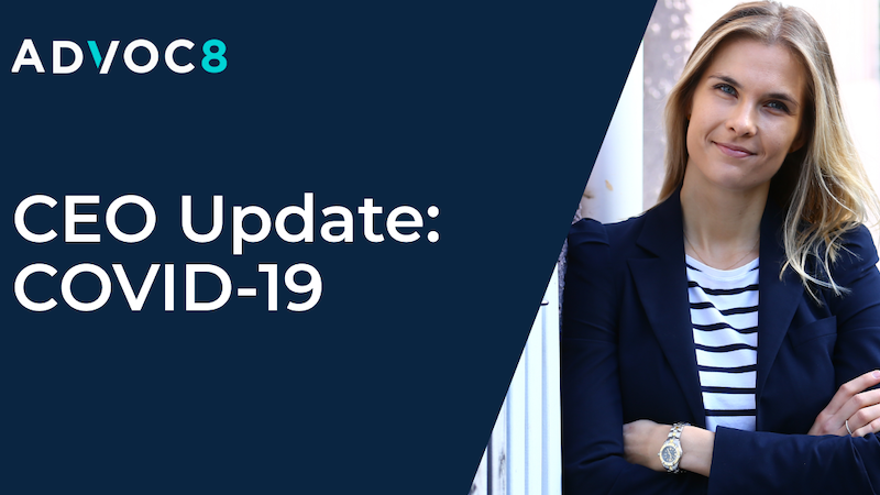 COVID-19: Update from our CEO
