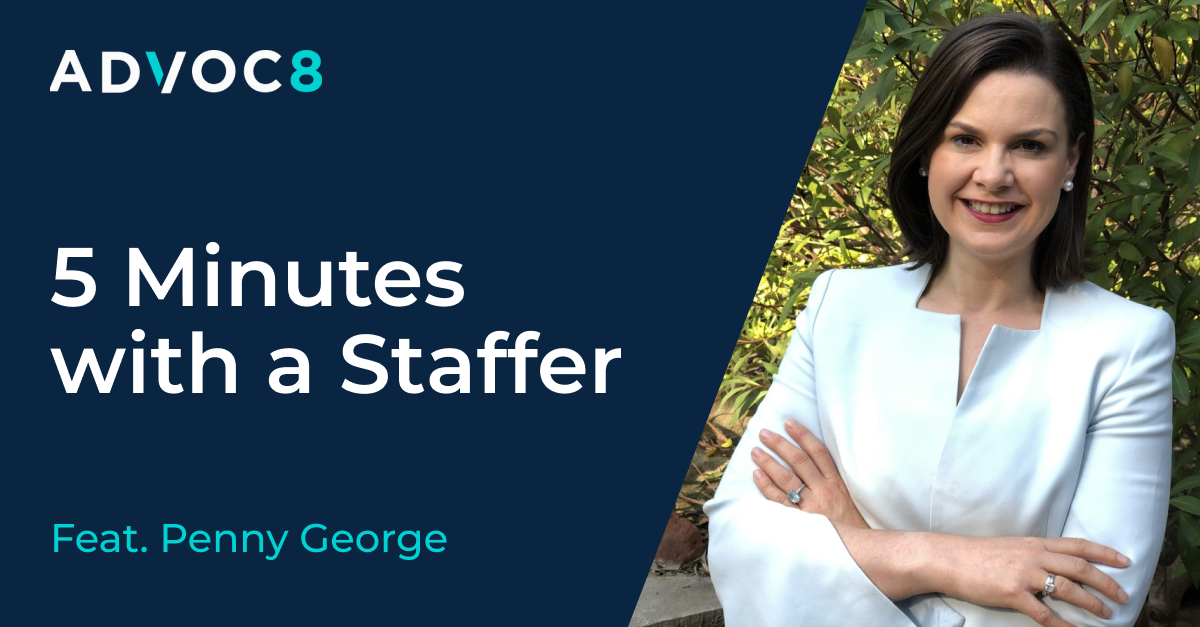 5 Minutes with a Staffer, featuring Penny George