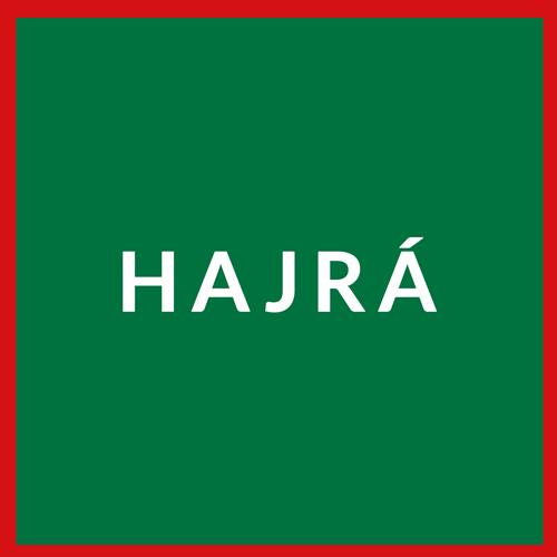 Hungarian flag reading Hajra