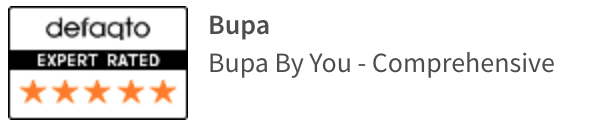 Bupa By You Comprehensive defaqto rating