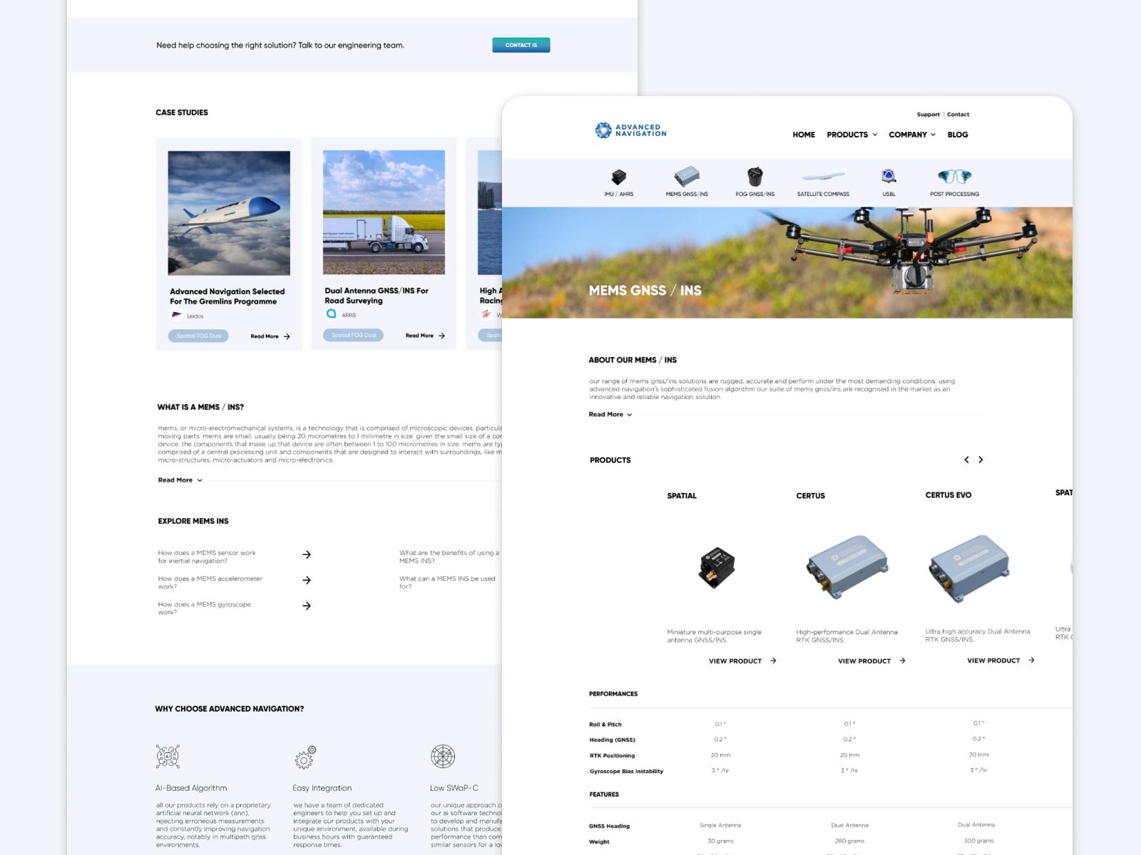 Category Page Mockup