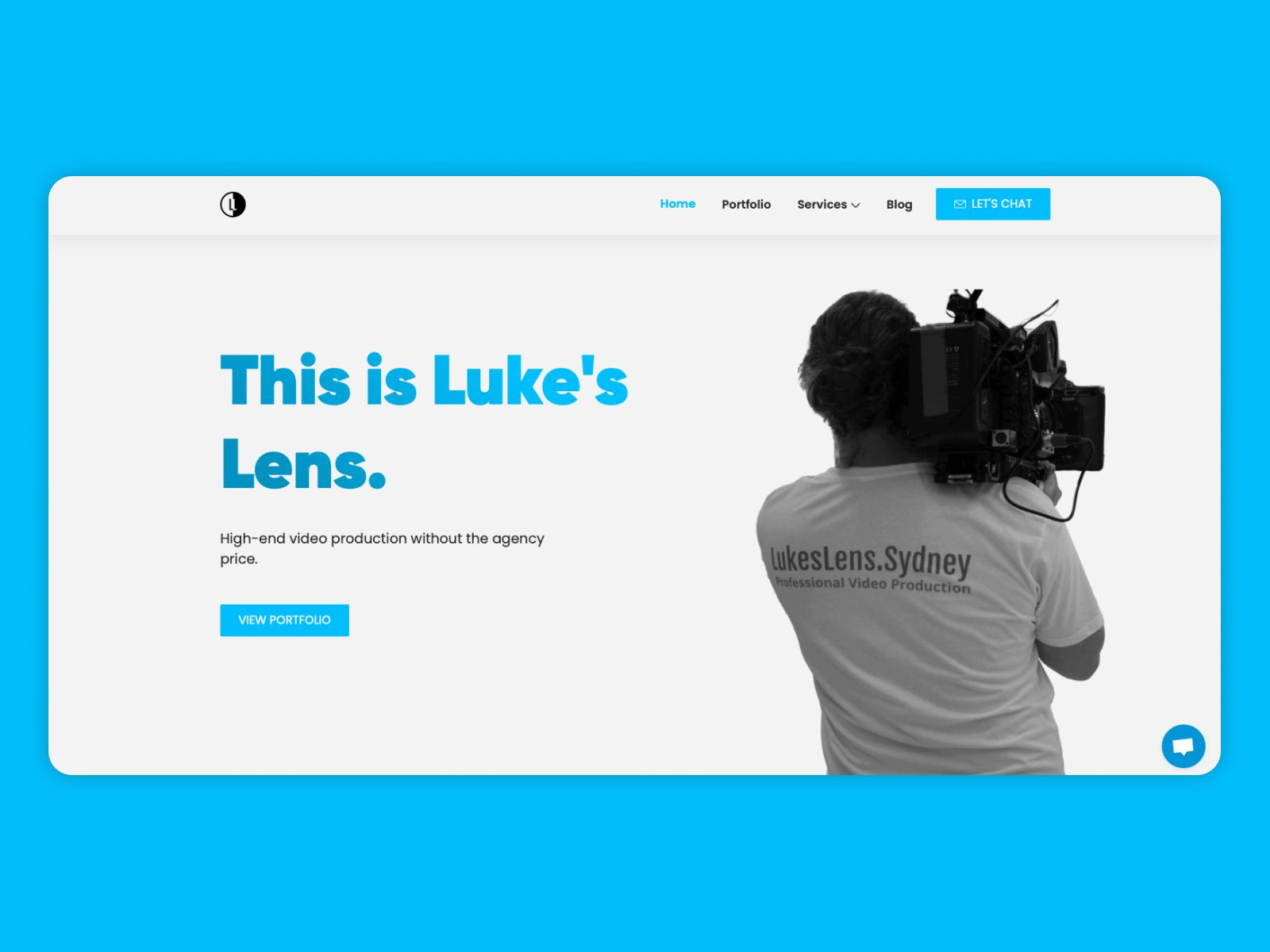 Luke's Lens Website