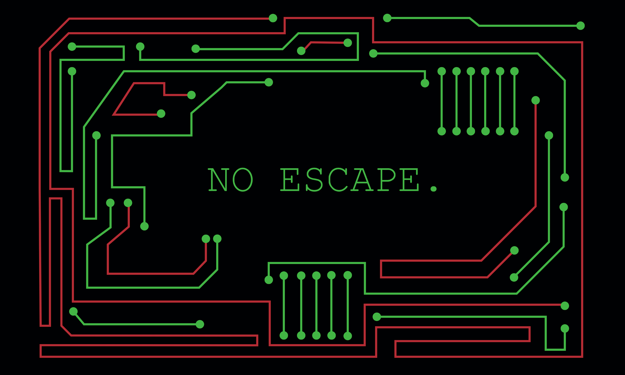 No escape (from this maze)