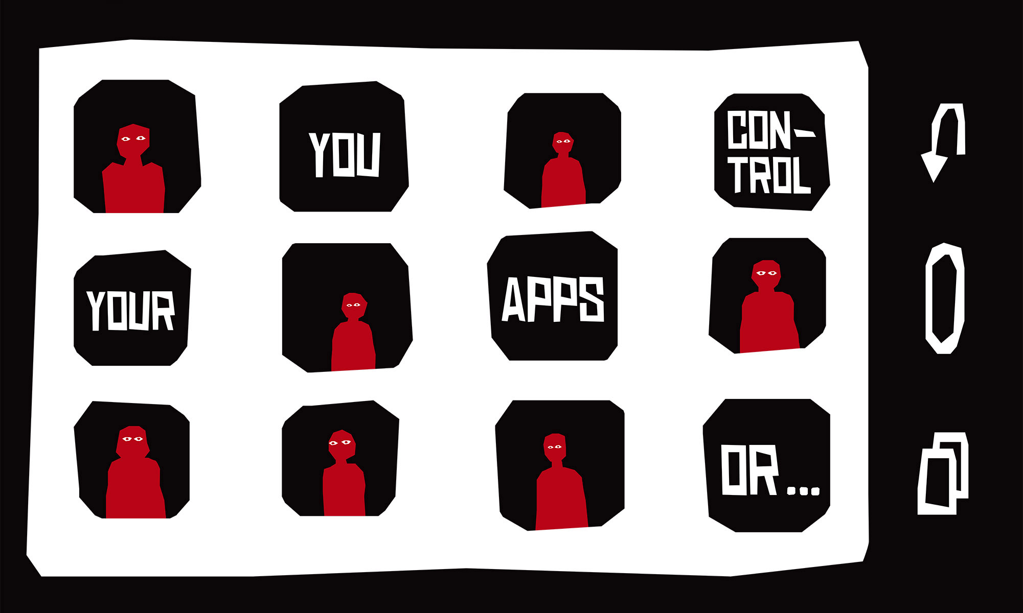 You control your apps or...