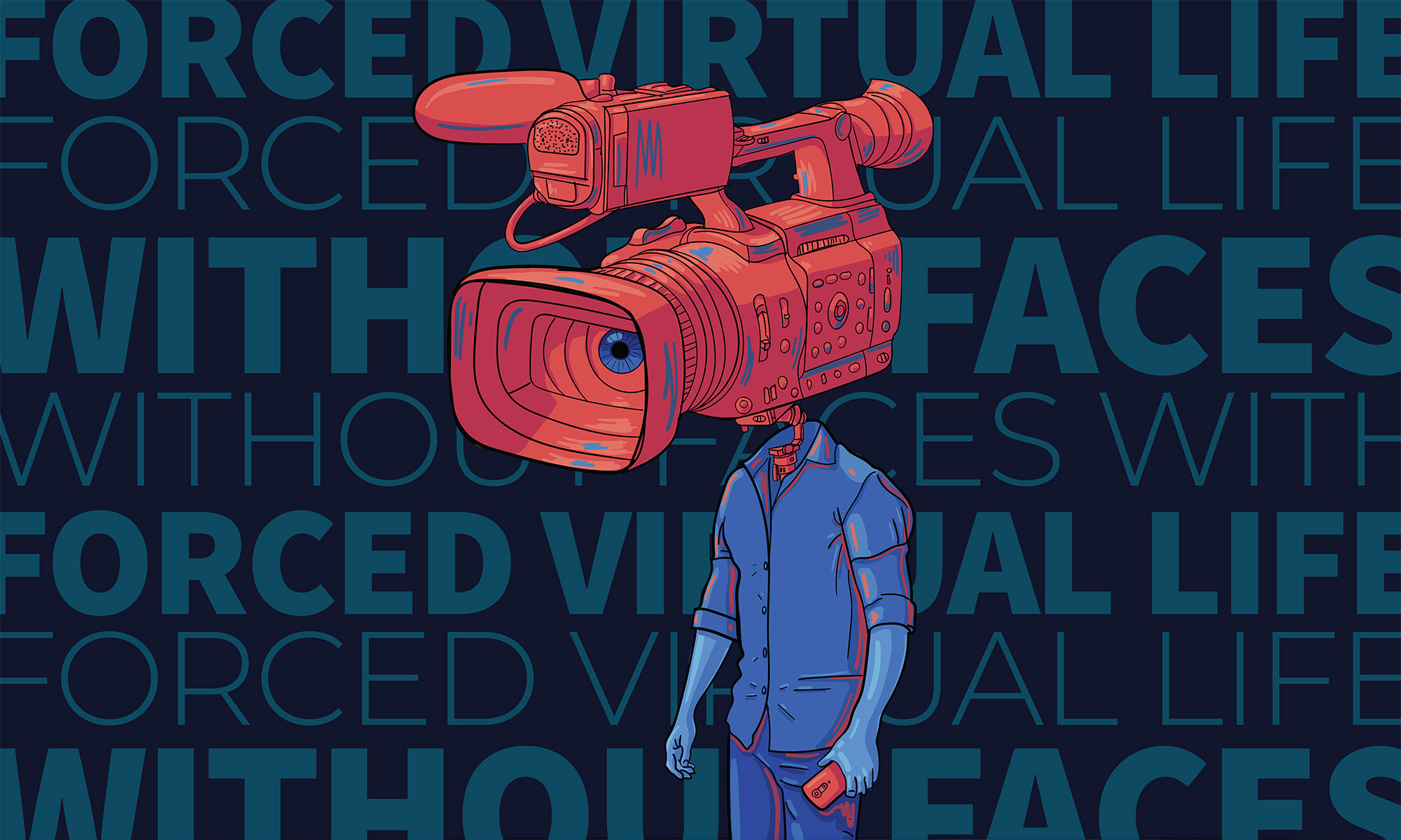 Forced virtual life