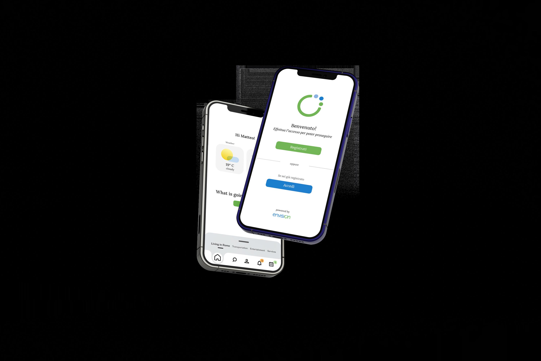 Urbanvision app preview