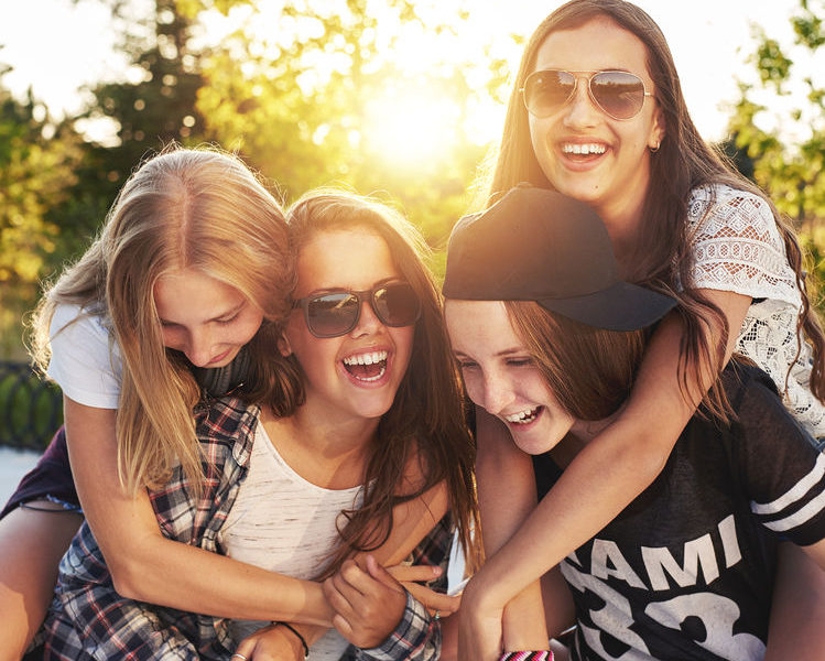 Teens-Smiling