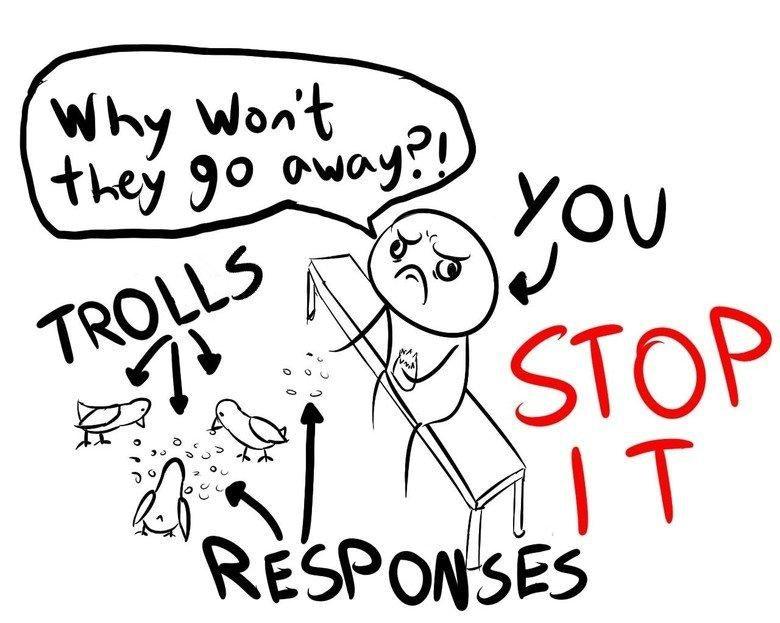 Feeding the trolls | Trolling | Know Your Meme