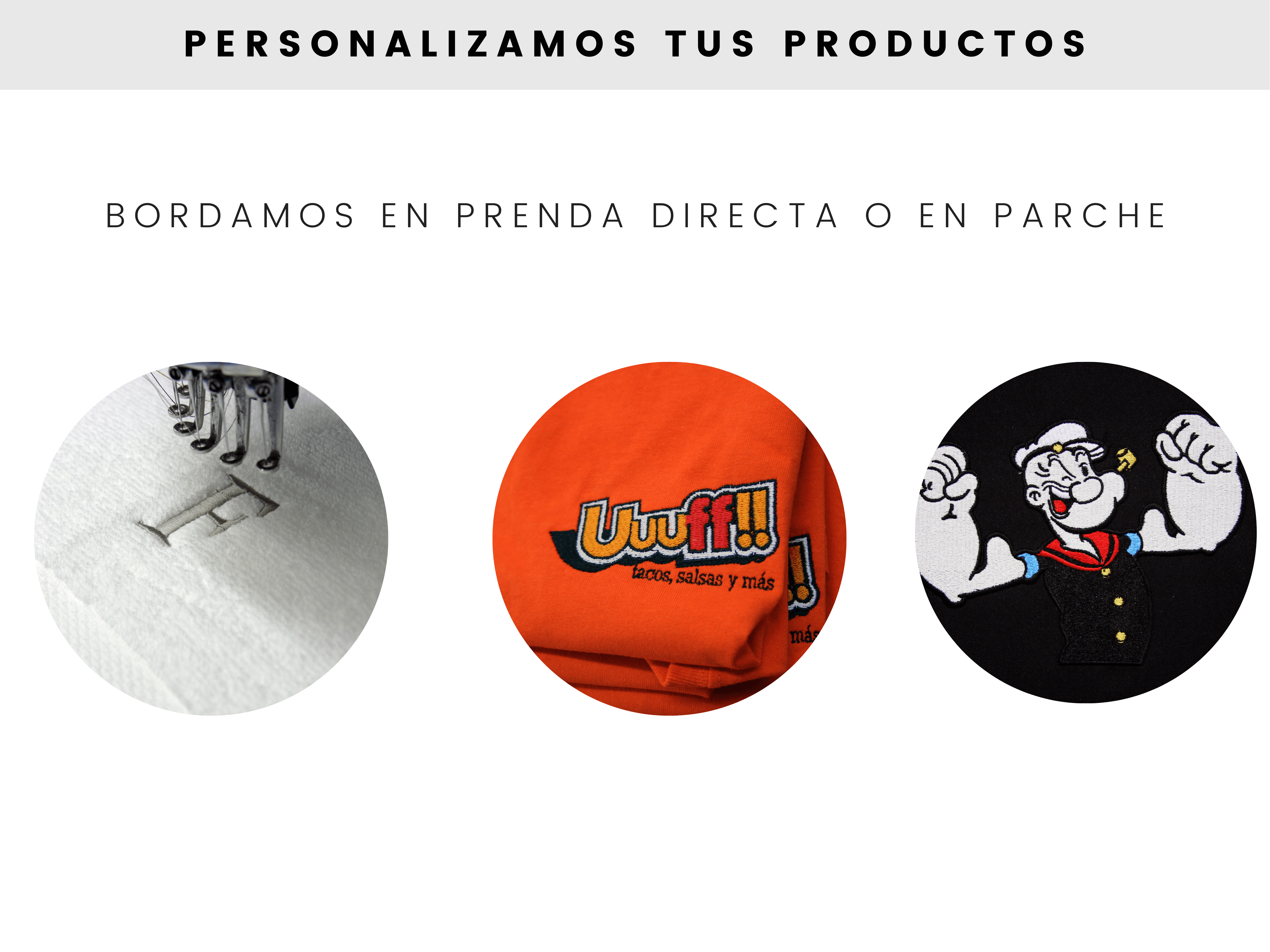 Personalizamos tus productos