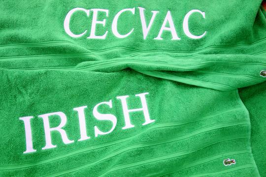 Irish bordado
