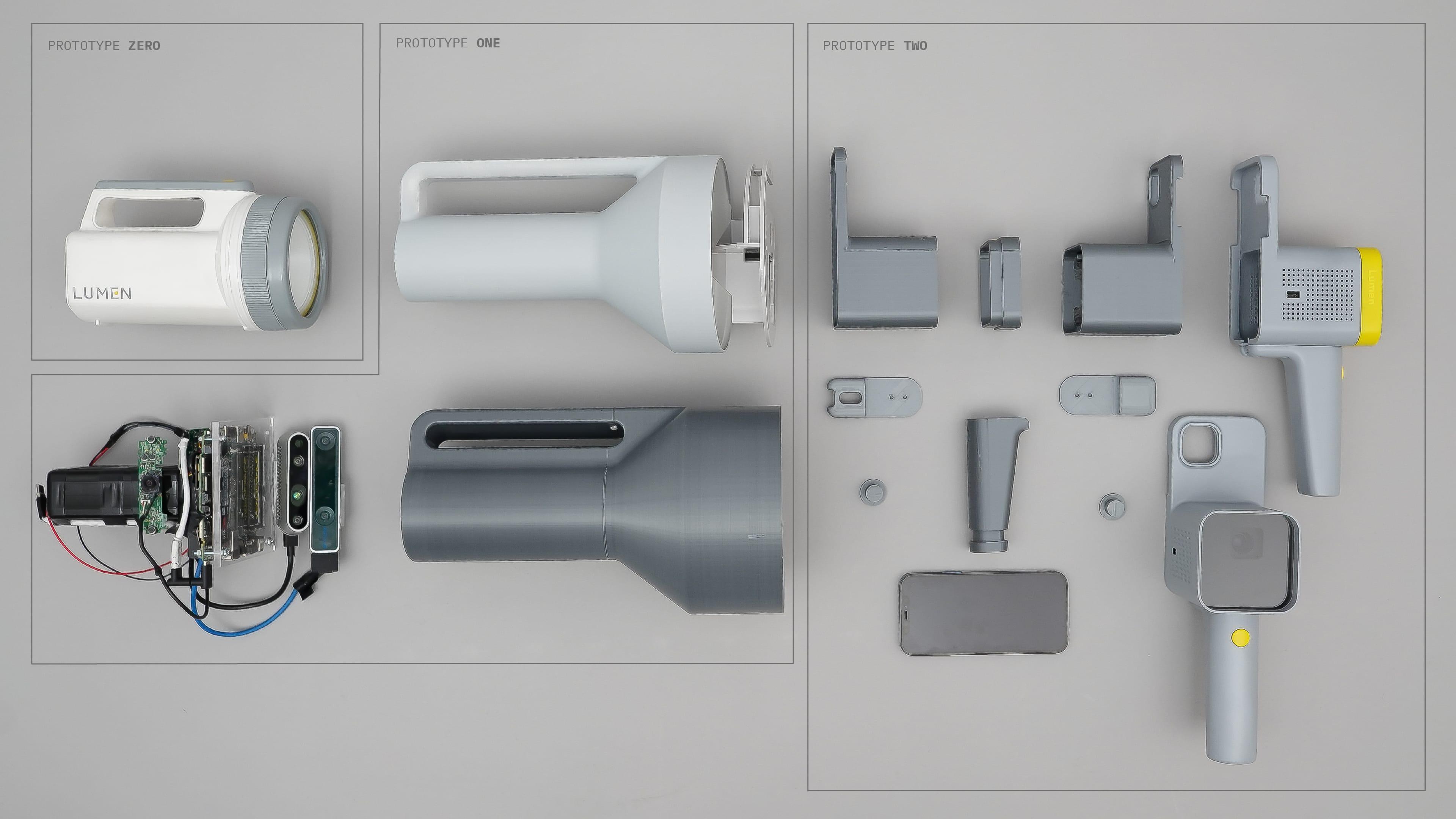 All the Lumen prototypes