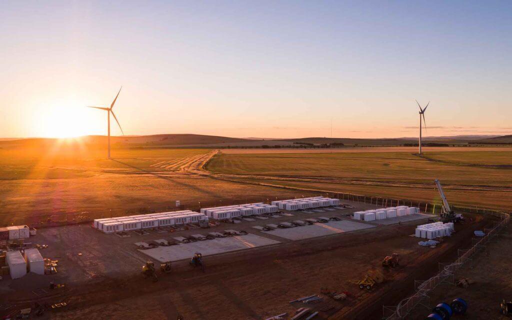 Hornsdale Power Reserve Australia, Tesla Battery, Hornsdale Wind Farm