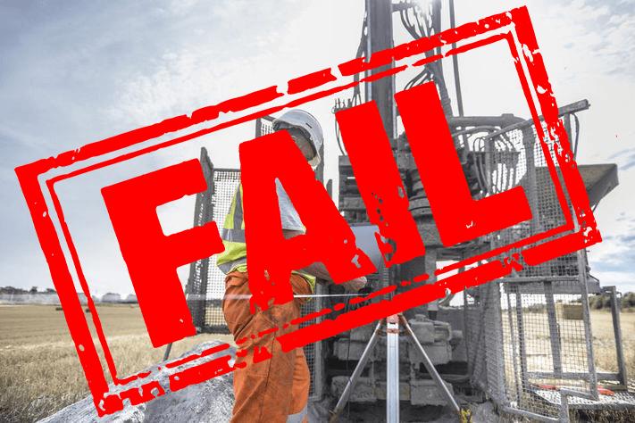 why do junior mining companies fail?