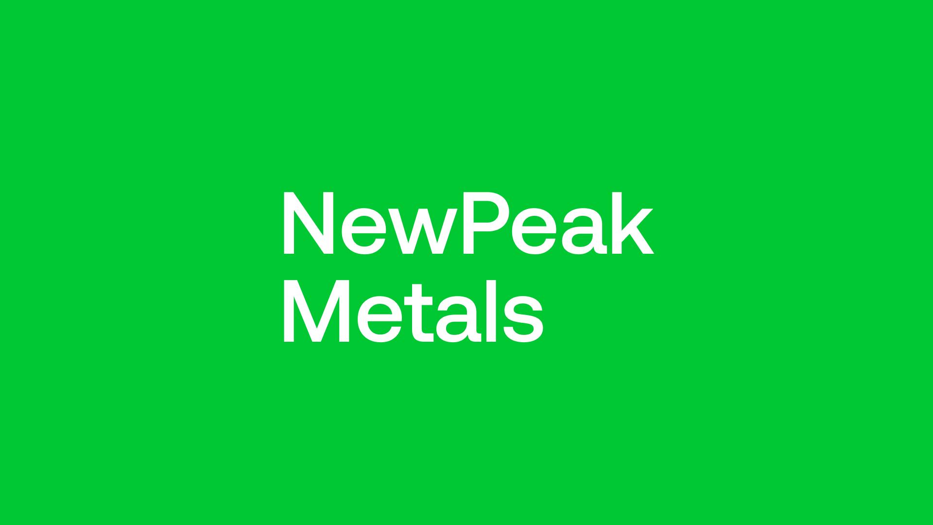 NewPeak Metals (NPM) - Gold Exploration v Project Generation