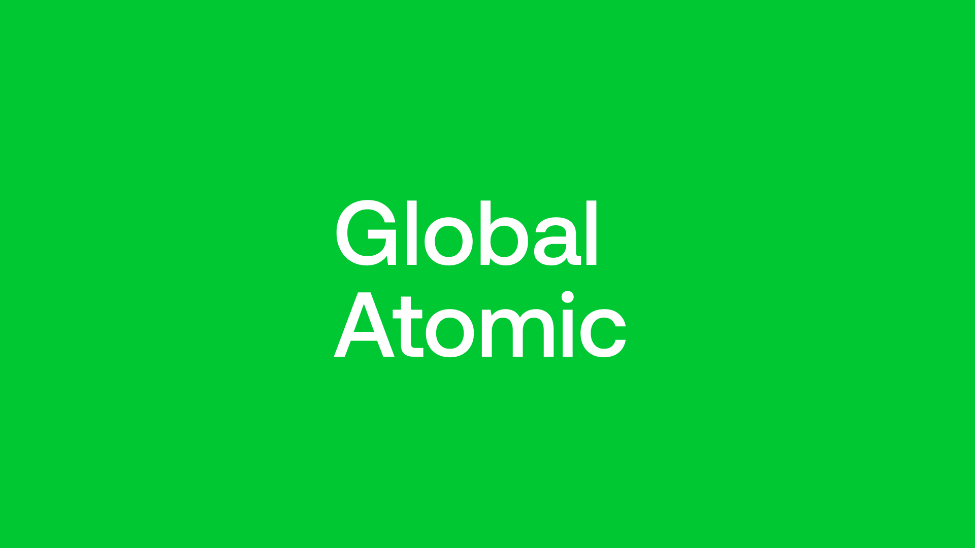 Global Atomic (GLO) - Operations on the Ground Already in Motion