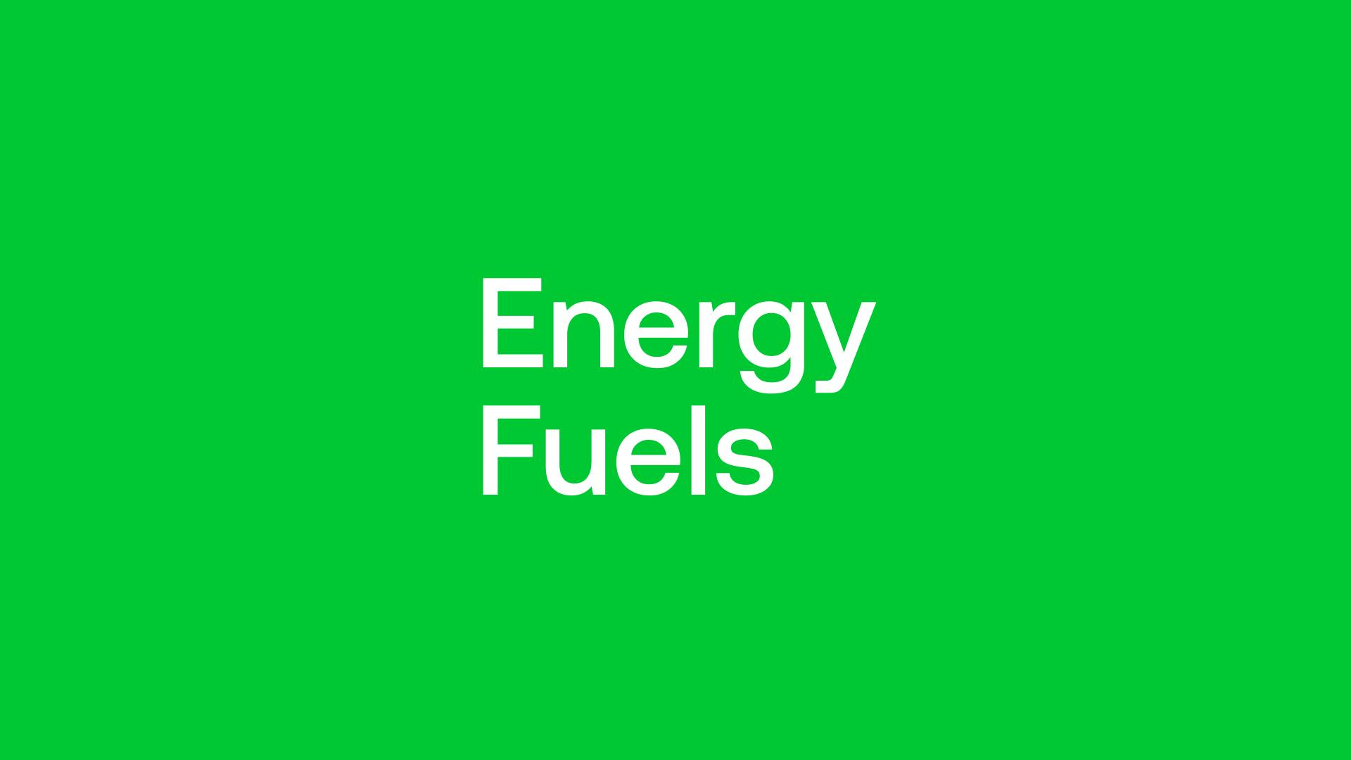 Energy Fuels (UUUU) - USA Critical Minerals Hub Getting Love