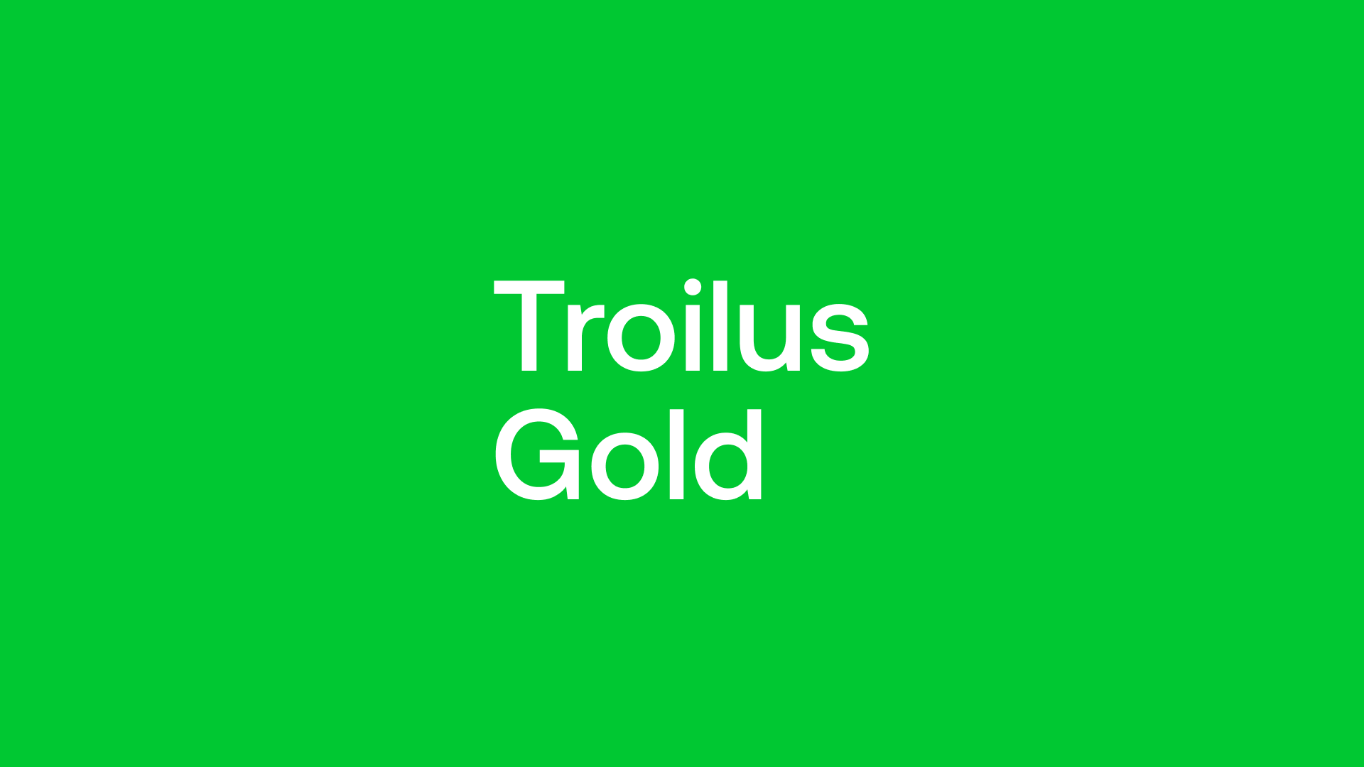 Troilus Gold (TLG) - Reawakening 6.5Moz Gold & Copper Beast