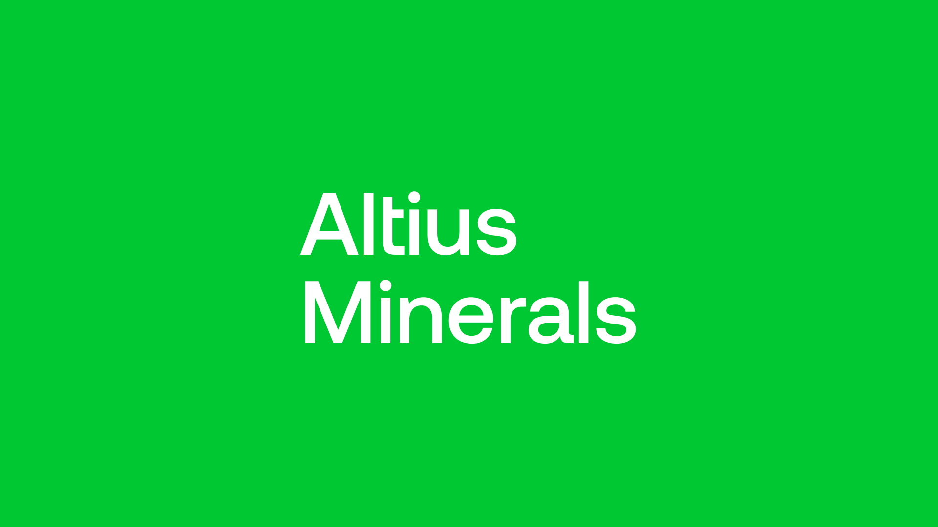 Altius Minerals (ALS) - Cash is King and Organic Growth is the Focus