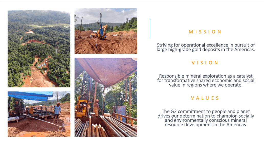 G2 Goldfields (GTWO) - Guyana Gold District Scale Exploration