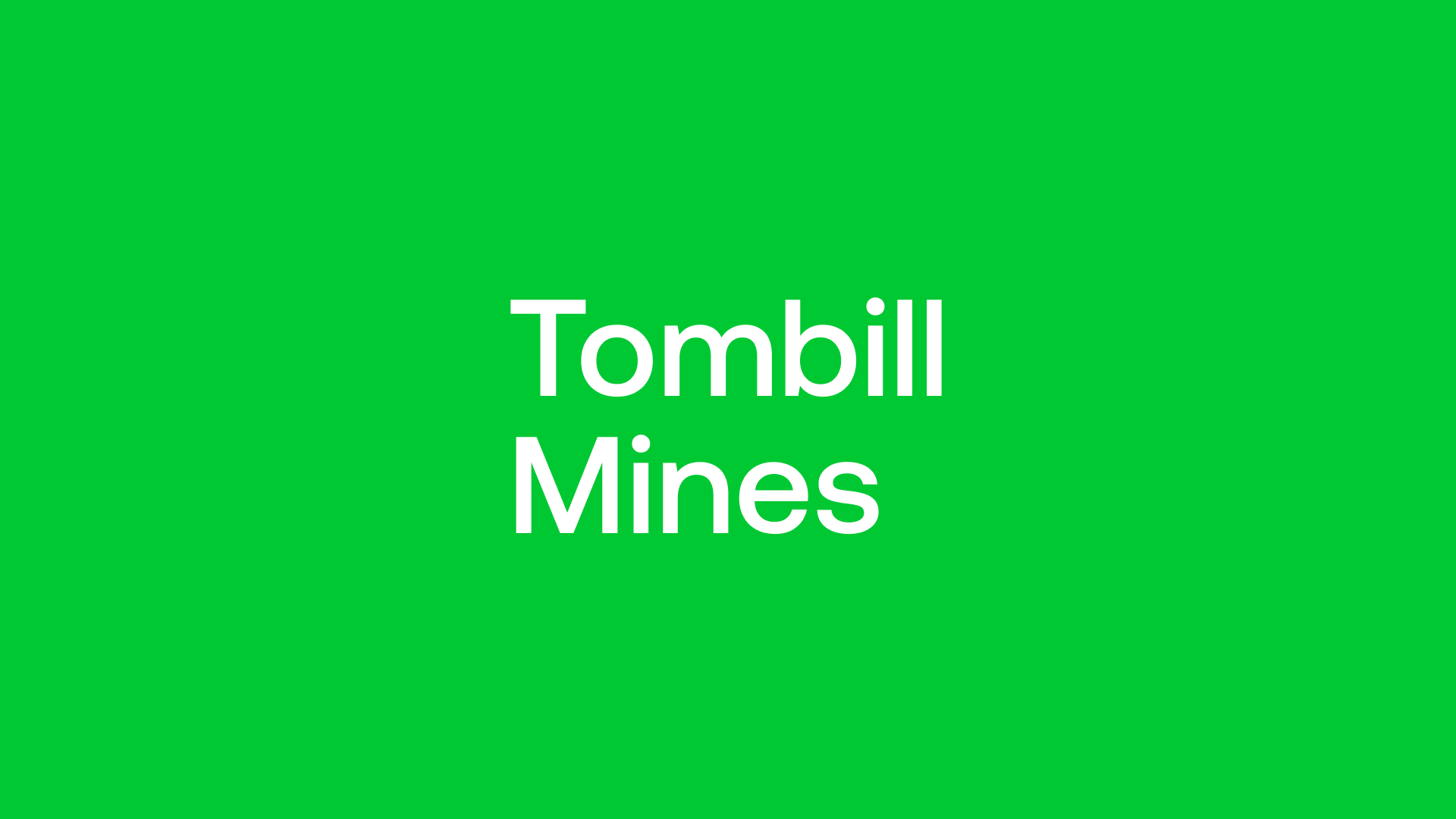 Tombill Mines (TBLL) - Equinox Gold Gathering on the Boarder