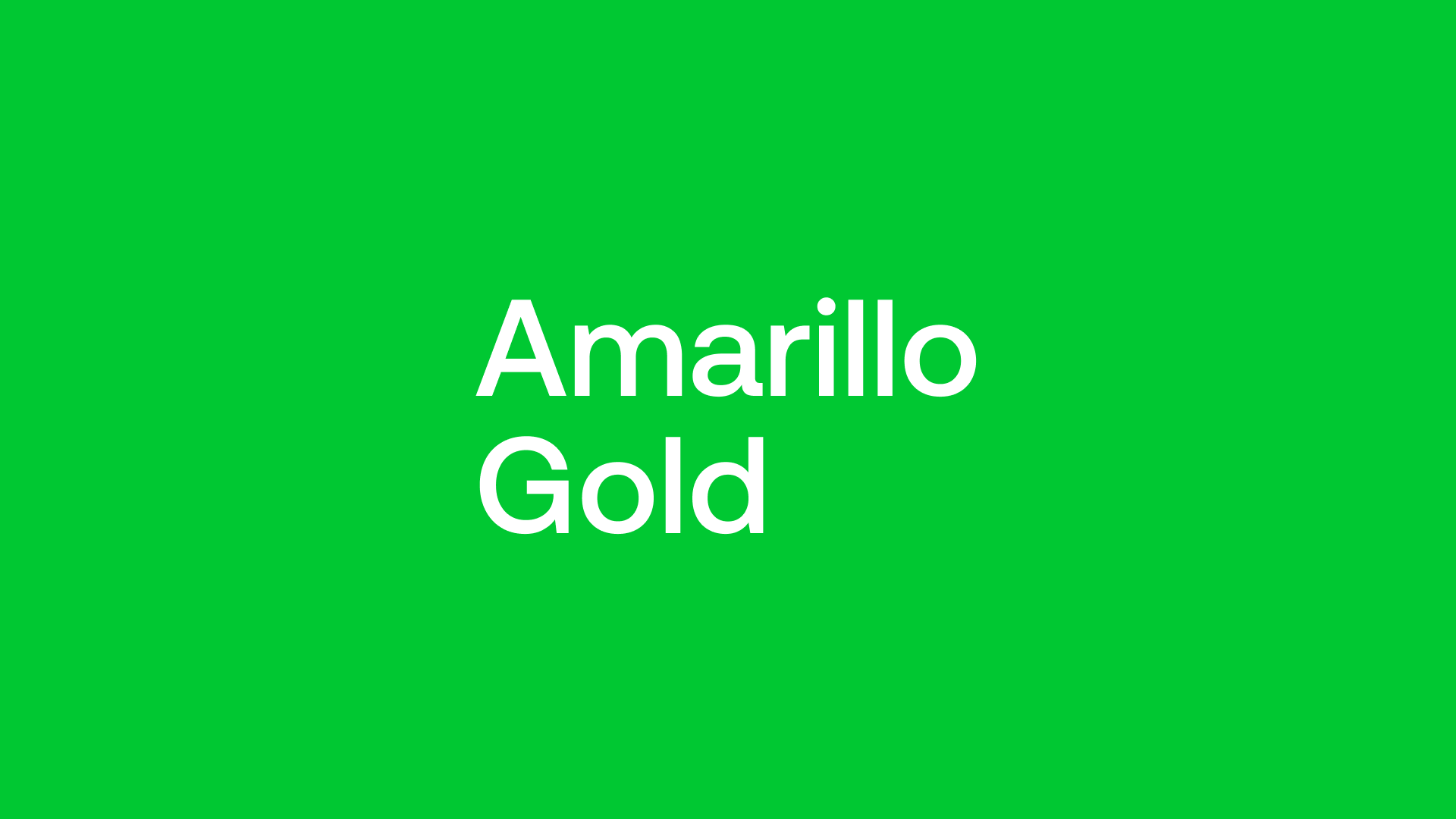 Amarillo Gold (AGC) - Focus is on Project Finance for April 2022