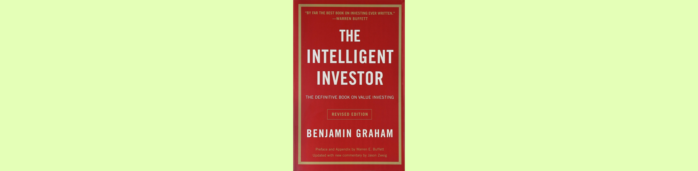 Top 18 Best Investing Books to Read for Every Investor (2021 List) The Intelligent Investor: The Definitive Book on Value Investing – Benjamin Graham