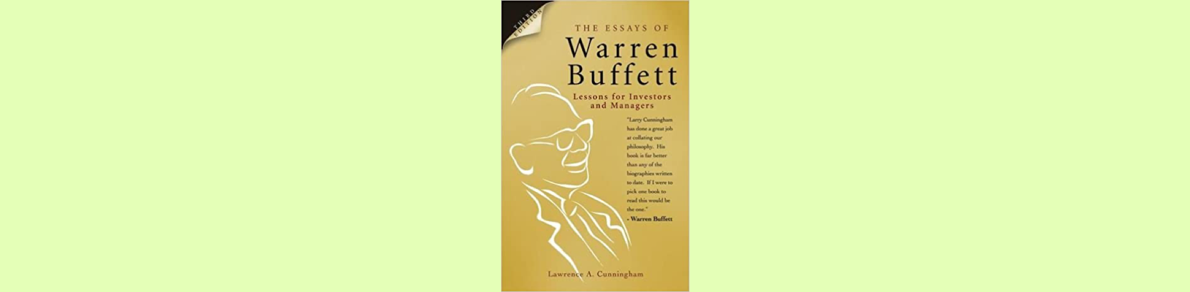 Top 18 Best Investing Books to Read for Every Investor (2021 List) The Essays of Warren Buffett: Lessons for Investors and Managers – Warren E. Buffet & Lawrence A. Cunningham