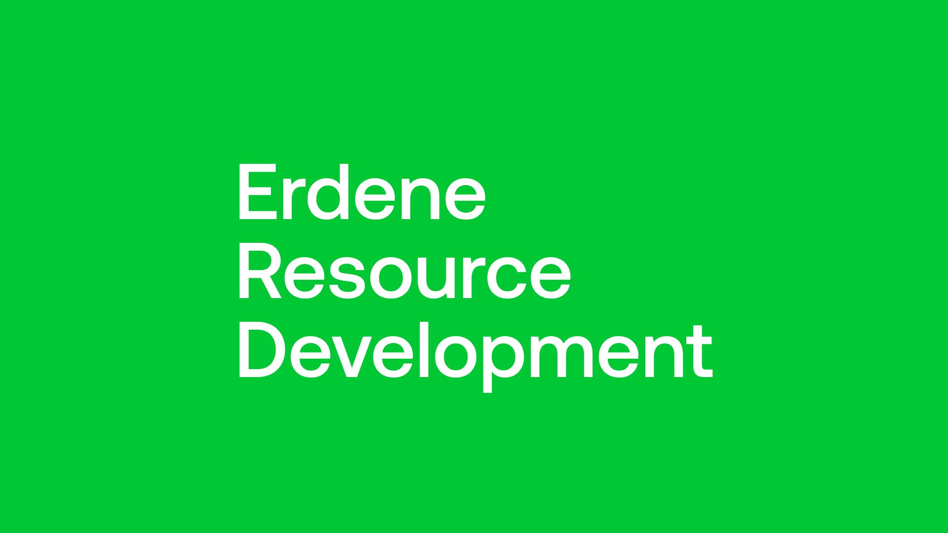 Erdene Resource Development (ERD) - Shovel Ready Gold in Open Pit