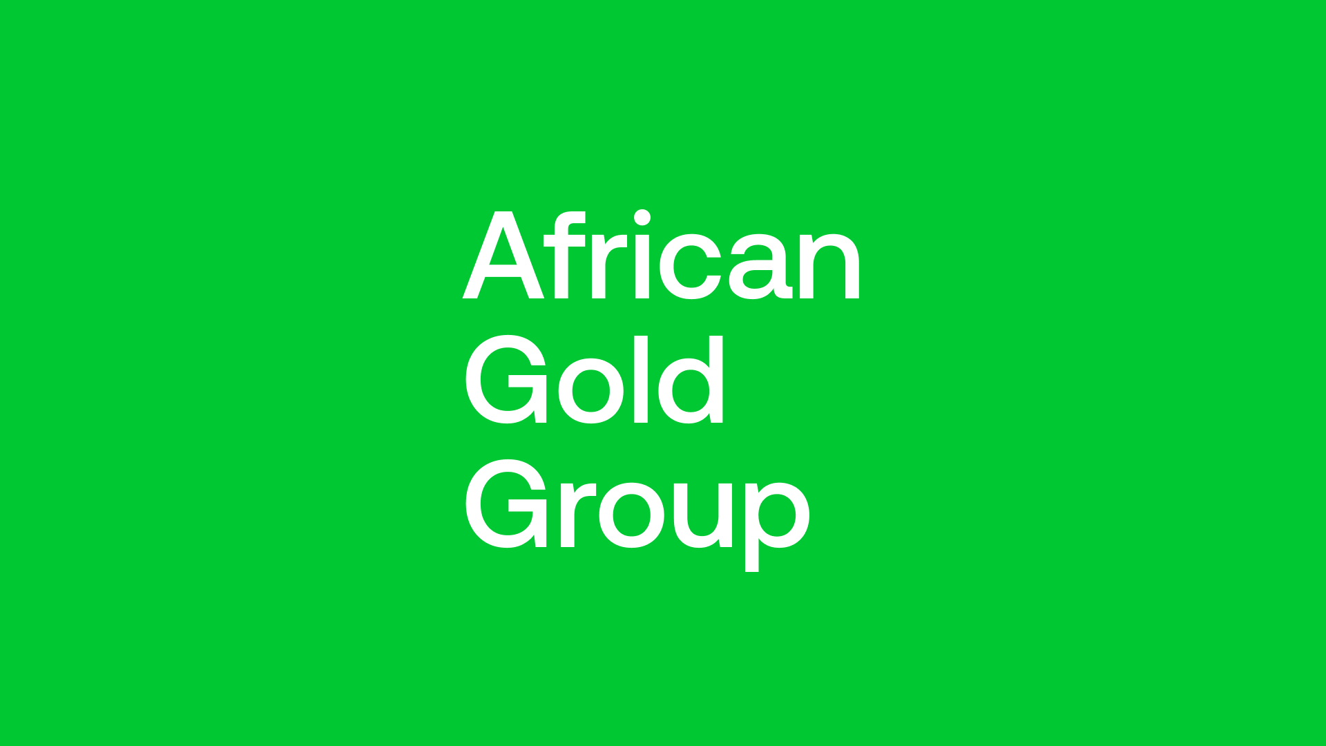 African Gold Group (AGG) - DFS Says Highly Profitable 100,000ozpa