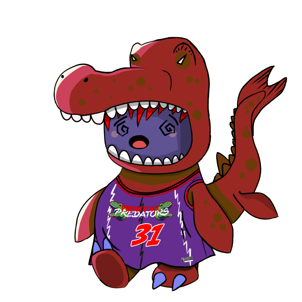 Red Mosasaurus Chibi Dinos - #31 Prehistoric Predators