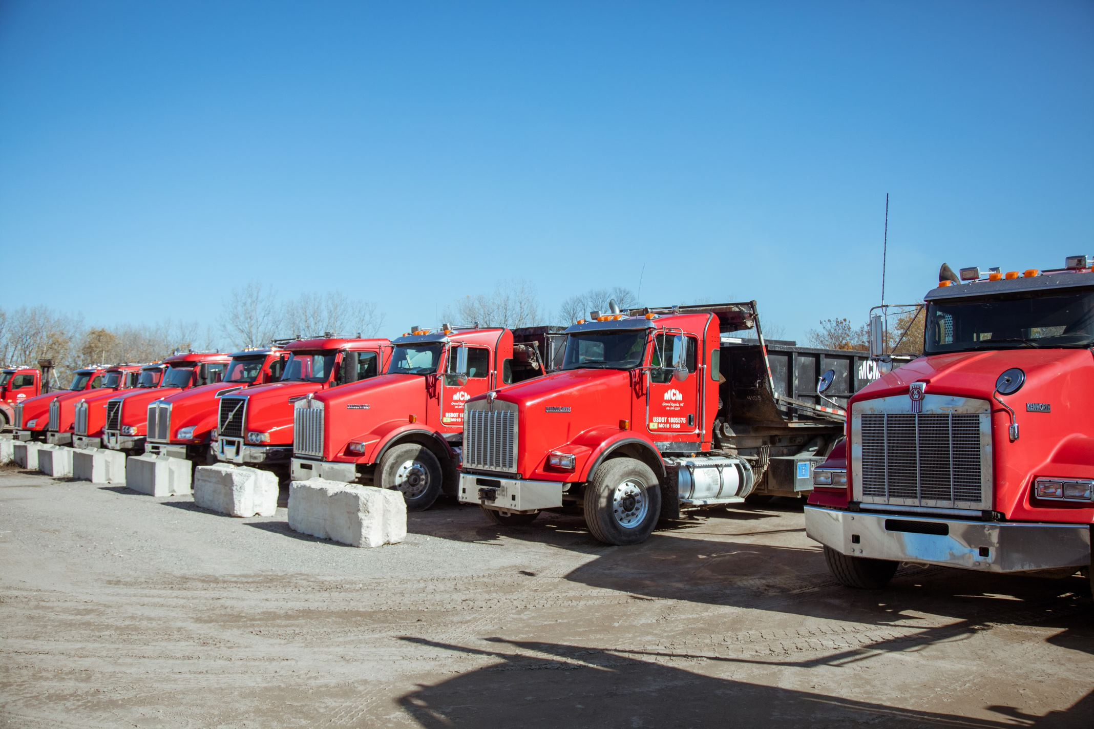 Even with MCM Disposal's roll-off operation at half its normal levels for March and April, their yearly revenue grew by 28% as a result of Starlight.